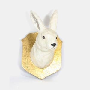 Anthropologie Artic Hare Wall Mount Rabbit Bust